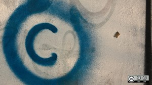 grafitti copyright symbol